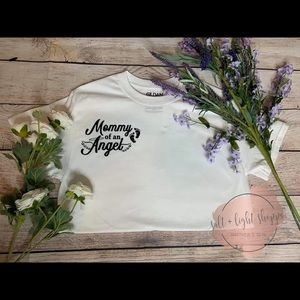 Miscarriage mother of an angel infant loss shirt